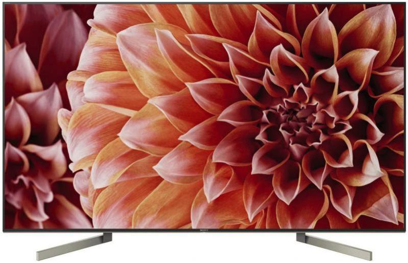 Sony LED TV KD-XF9005: Smart TV con processore 4K per l'arredo di design